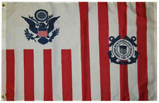 US United States Coast Guard Ensign 1799 100D Woven Poly Nylon 3x5 3'x5' Flag