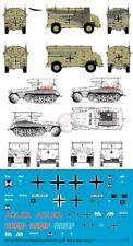 Peddinghaus 1/72 Sd.Kfz.250/3 & AEC Dorchester Markings Rommel's Staff Cars 3323