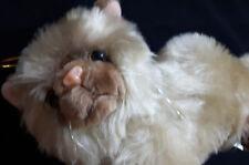 Süße weiche kuschelige Katze von Paul in Beige 16cm Kuscheltier Plüschtier