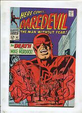 Daredevil #41 (9.0) The Death Of Mike Murdock! 1968