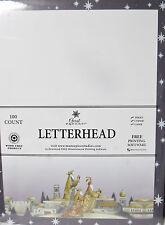 Christmas Letterhead Three Wisemen - 8.5x11 injet copier laser 100 Sheets NEW