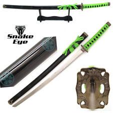 Snake Eye Tactical Two Tone Samurai Katana sword w/ Free Sword Stand
