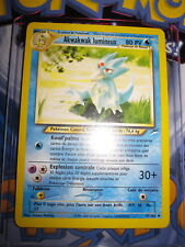 POKEMON (◕‿◕✿) AKWAKWAK LUMINEUX 47/105 NEO DESTINY FR MINT UNCO ED ILLIMITE