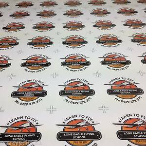 Bumper Stickers 50 Printed Full Colour Business Club Promotional Decal Car Trade