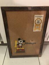 vintage Disney mickey mouse cork board Nos