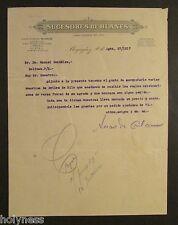 SUCESORES DE BLANES / COMMERCIAL LETTER /  MAYAGUEZ PUERTO RICO / 1917