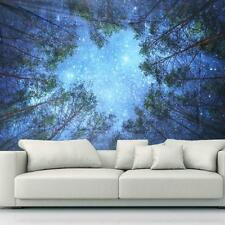 Bohemian Wall Poster Tapestry Forest Tree Decorative Wall Hanging Hippie KS3