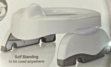 Potette Plus Premium 2 in1 Travel Potty and Toilet Seat Trainer Ring with Guard