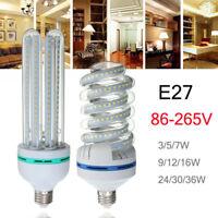 E27 LED Energy Saving Corn Bulb 2835 SMD Light Corn Lamp Incandescent 3W-36W !