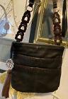 BRIGHTON KODA Leather Unique strap Pocket Cell Phone Case Messenger Shoulder BaG
