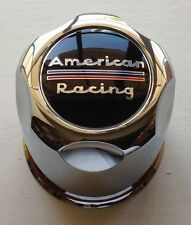 "4 American Racing 3.27"" OD Plastic CHROME Push Thru Center CAPS  AR Rims 1327000"