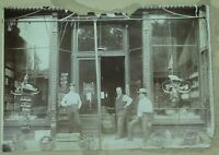 .AMERICANA. c1907 NICHOLASVILLE, KENTUCKY USA. LARGE STORE FRONT ORIGINAL PHOTO.