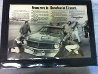 "1970 American Motors AMX Javelin Donahue SCCA *Original* ""Ready to Display"" ad"