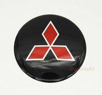 1Pcs 65mm Auto Rad Nabendeckel Emblem Aufkleber Plakette Logo für Mitsubishi