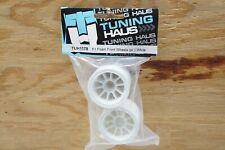 Tuning Haus F1 Foam Front Wheels (pr.) White - Foam & Shimizu F104 Rubber