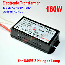 160W Electronic Transformer AC 110V to AC 12V for G4/G5.3 Halogen Lamp