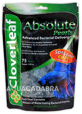 Cloverleaf Absolute Pearls 75 Balls Aquarium Nitrate Ammonia Clear Water Fish