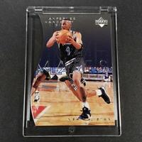 ANFERNEE HARDAWAY 1997 UPPER DECK TEAMMATES #T60 DIE CUT FOIL INSERT CARD NBA
