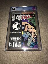 BATMAN #497 CGC 9.8 First Print KEY ISSUE