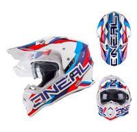 Oneal Sierra II Helm Circuit mit Visier Quad ATV Supermoto Enduro-Helm