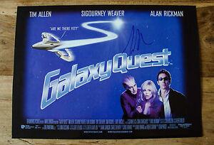Galaxy Quest Photo Signed Tim Allen