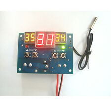 DC 12V Intelligent Digital Led Thermostat -9°C - 99°C Temperature Controller