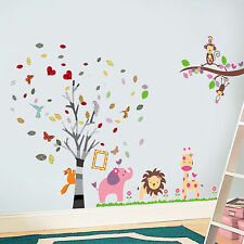 Walplus Wall Sticker Decal Wall Art Huge Pink Elephant with Photo Frame