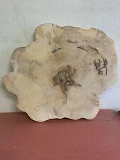 Baumscheibe, Holzscheibe, ca 80x5 cm, geschliffen