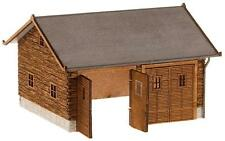 Faller 130325 Barn ,shed , Vehicle Shelter Dimensions: 84x77x53mm NIP
