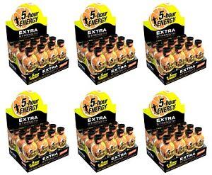 5 Hour Energy Extra Strength Orange Flavored 72 Energy Shots 5-Hour Exp 3/2022