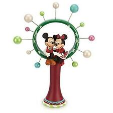 Disney Store Mickey & Minnie Mouse Circle of Friends Christmas Tree Topper 2014