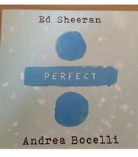 "ED SHEERAN & ANDREA BOCELLI ""PERFECT"" WARNERS BRAZILIAN CD PROMO"