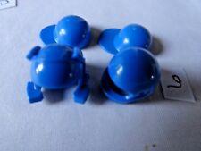 LEGO MINIFIGURE ASSORTED BLUE HEAD WEAR (4485B) LOT 6
