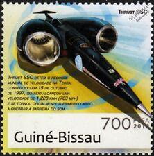 THRUST SSC World Land Speed Record (WLSR) Car Stamp (2012 Guinea-Bissau)