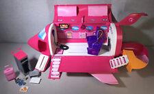 2009 Mattel Barbie Pink Glam Vacation Jet W/Sound - Rare!!