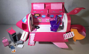 2009 Mattel Barbie Pink Glam Vacation Jet W/Sound - Rare!!