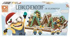 Minion Lebkuchenhaus Bastelsatz mit zwei Minions 2D Figuren 268