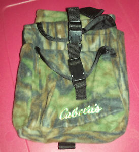 Cabela's Realtree Camo Pack Pouch & 2 extra Pockets!