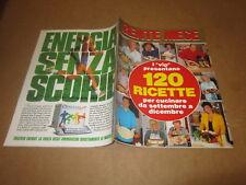 RIVISTA GENTE MESE SET.1995 RICETTE VIP BONOLIS FENECH LAYRITO BANFI CUCCARINI
