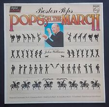 LP John Williams & The Boston Pops – Pops On The March Holland Philips 1980