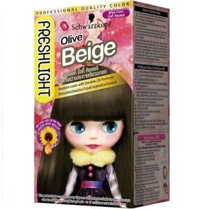 [SCHWARZKOPF BLYTHE] Fresh Light Milky Series OLIVE BEIGE Hair Dye Color Kit