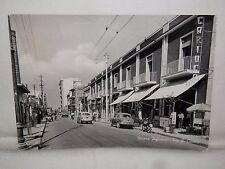 Vecchia foto cartolina d epoca di Nocera Inferiore via G Canale strada scorcio