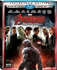 Marvel Avengers Age of Ultron Collector's 3D Blu-ray Digital Copy The Avengers 2