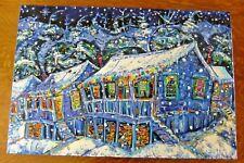 """North Star Xmas"" by Brian Scott. Original Oil on Canvas."