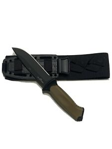 Gerber Prodigy Coyote Brown Fixed Blade Tactical Knife USA Made  🇺🇸 Authentic!