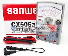 Linear Multitester  Multimeters Japan CX-506a SANWA CX506a New