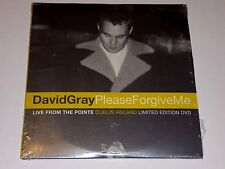 DAVID GRAY PROMO  DVD LIVE FROM THE POINT DUBLIN PLEASE FORGIVE ME LIMITED ED