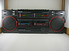 Philips D8334 Tupac Twin Cassette Beatbox Recorder Boombox