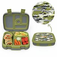 Bentgo Kids Prints (Camouflage) - Leak-Proof, 5-Compartment Bento-Style Kids...