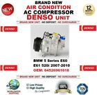 DENSO AIR CONDITION AC COMPRESSOR BMW 5 E60 E61 520i 2007-2010 OEM: 64526961618